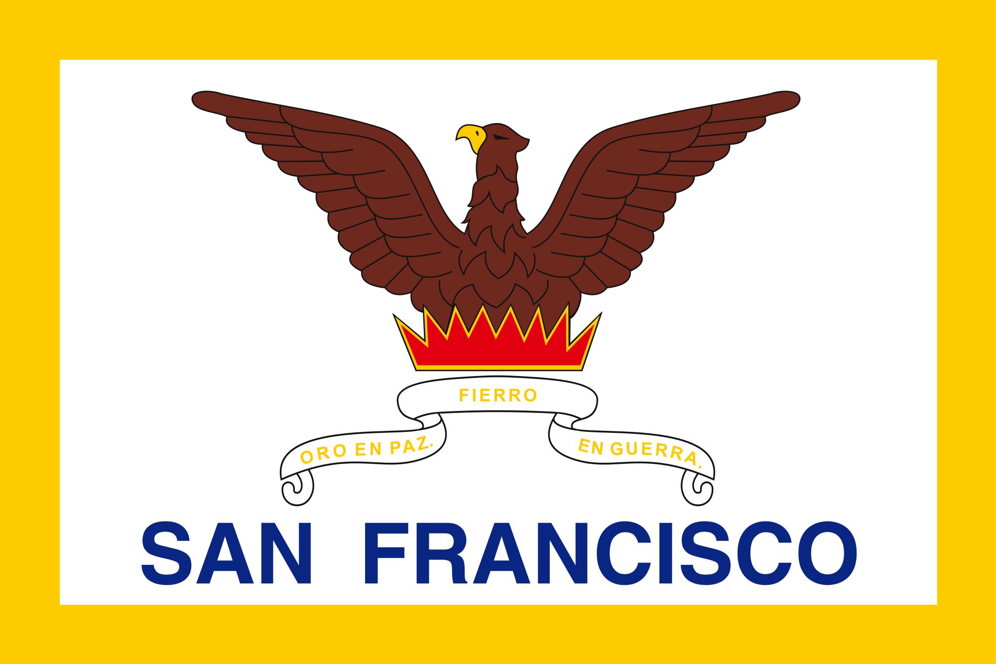 San Francisco City Flags