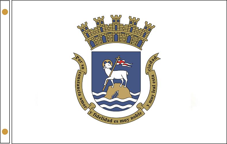 San Juan Puerto Rico Flags
