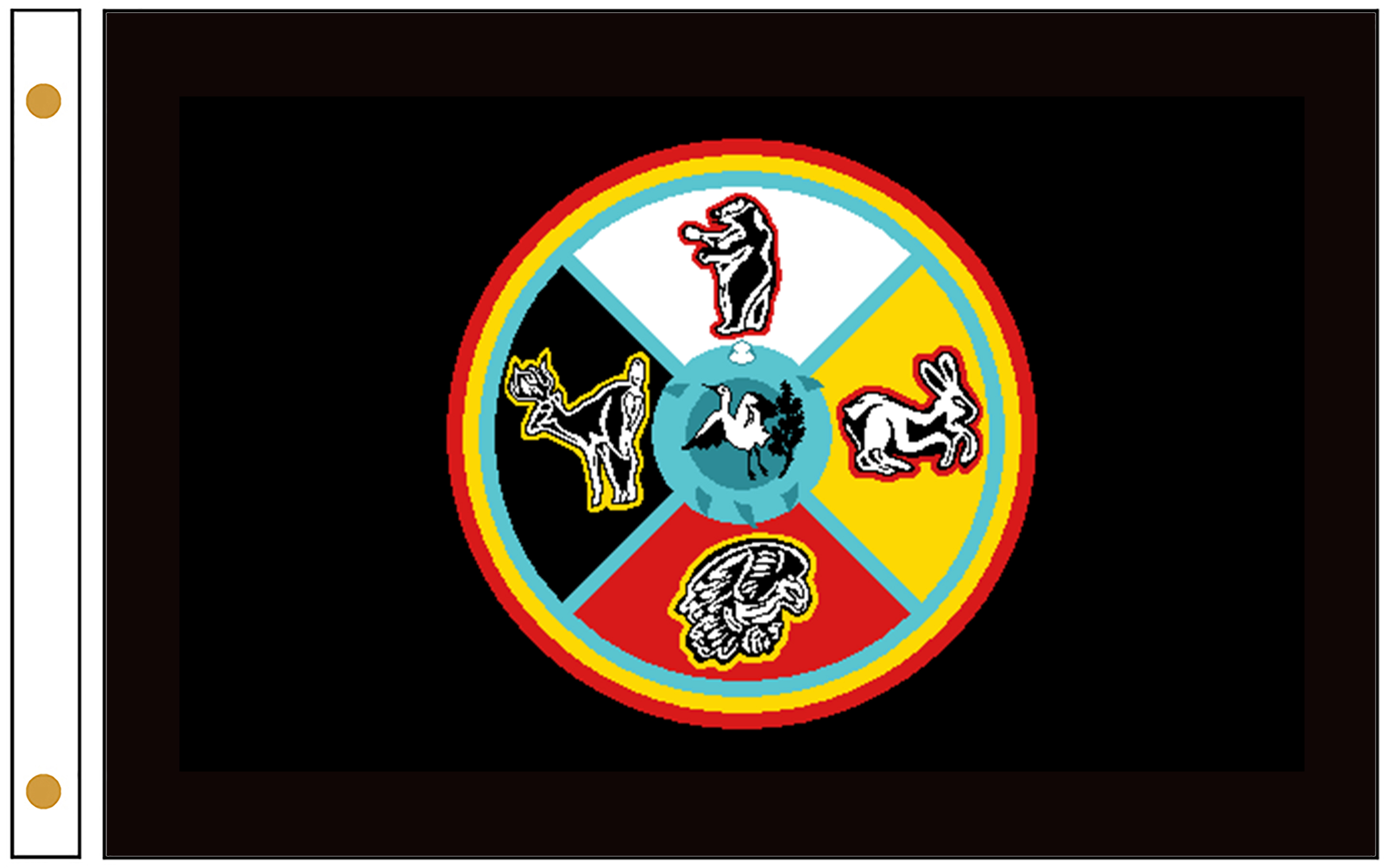 Sault Tribe Flags