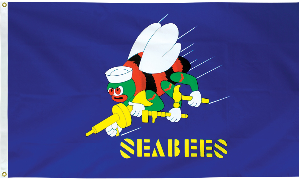 Seabees Flags
