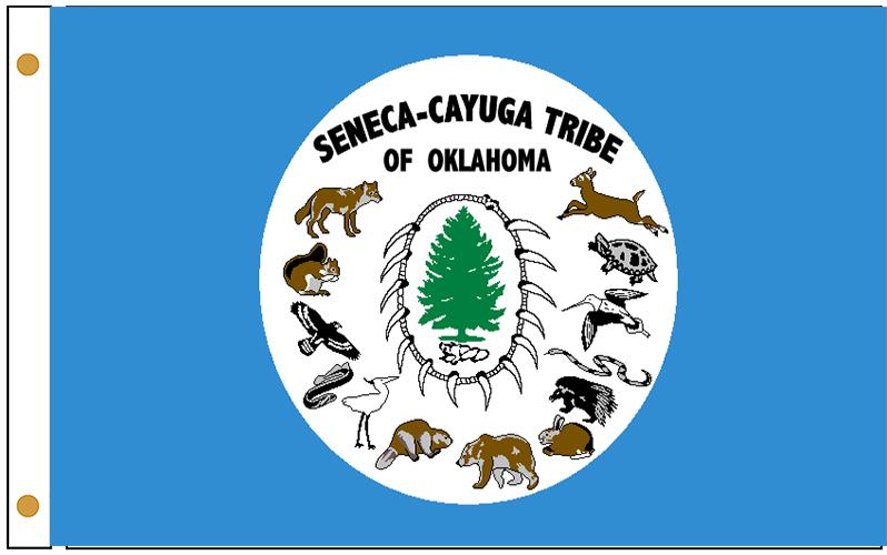 Seneca Cayuga Tribe Flags