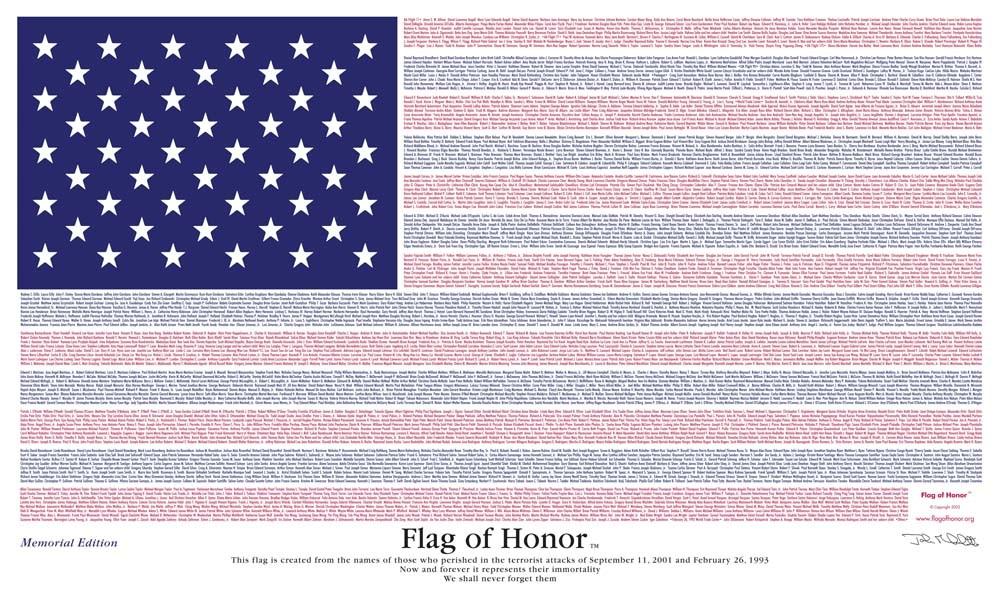 September 11 Flags of Honor