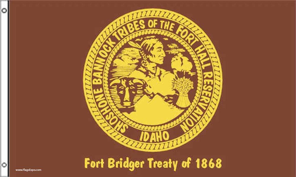 Shoshone-Bannock Tribe Flags