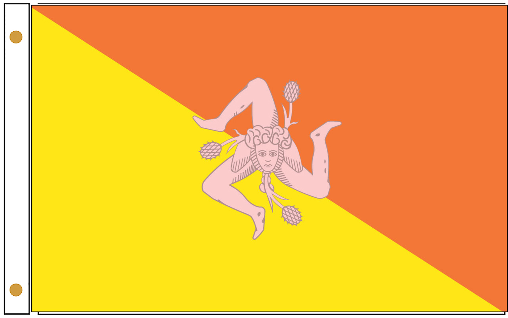 Sicily Official Government Flags
