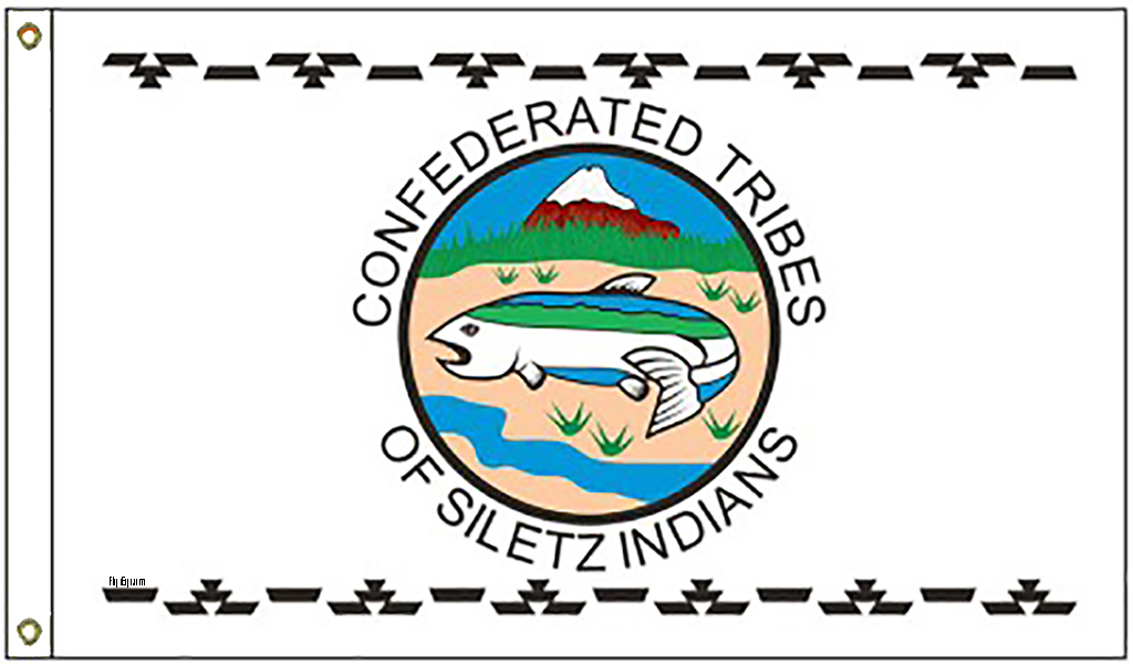Siletz Native American Tribe Flags
