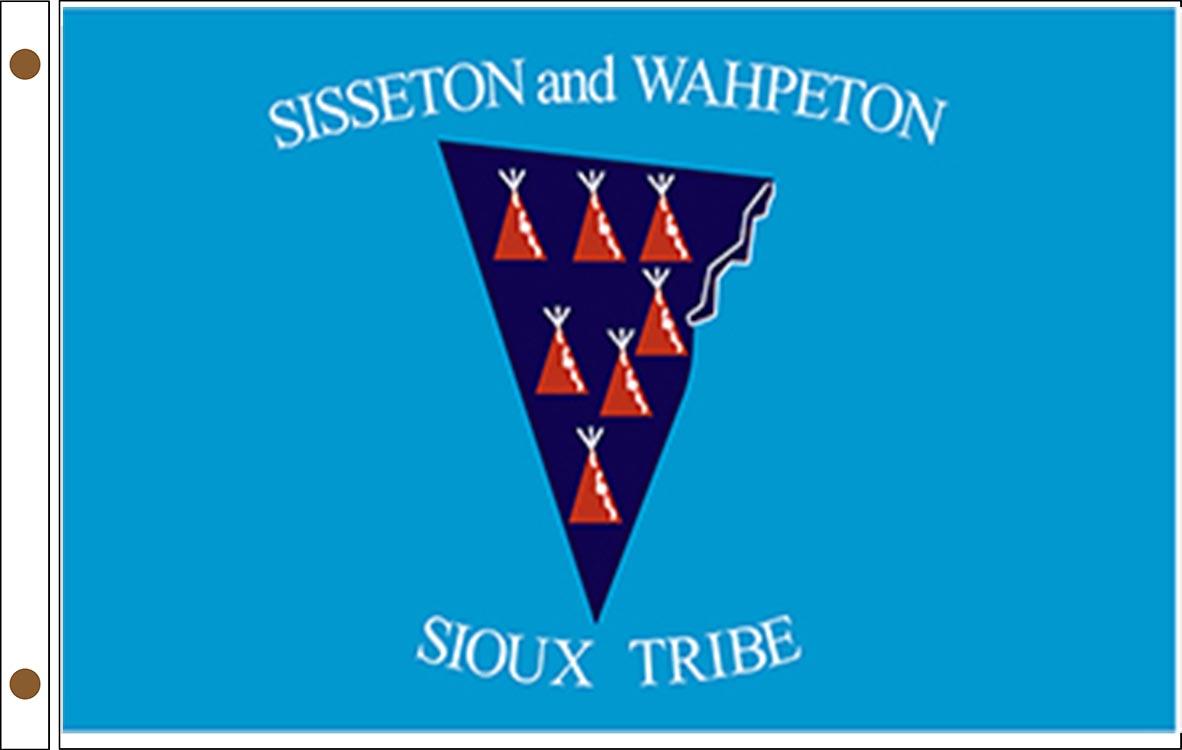 Sisseton Wahpeton Oyate Tribe Flags