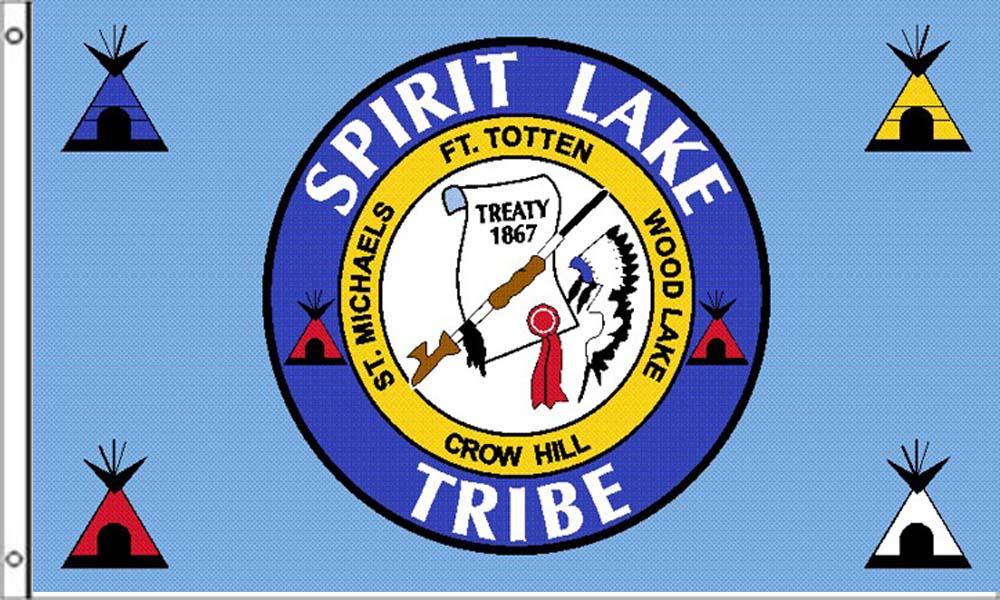 Spirit Lake Tribe Flags