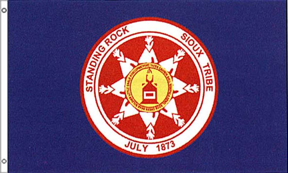 Standing Rock Tribe Flags