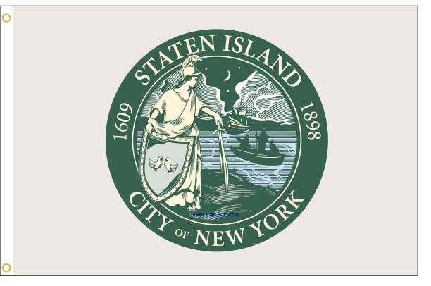 Staten Island NY Flags