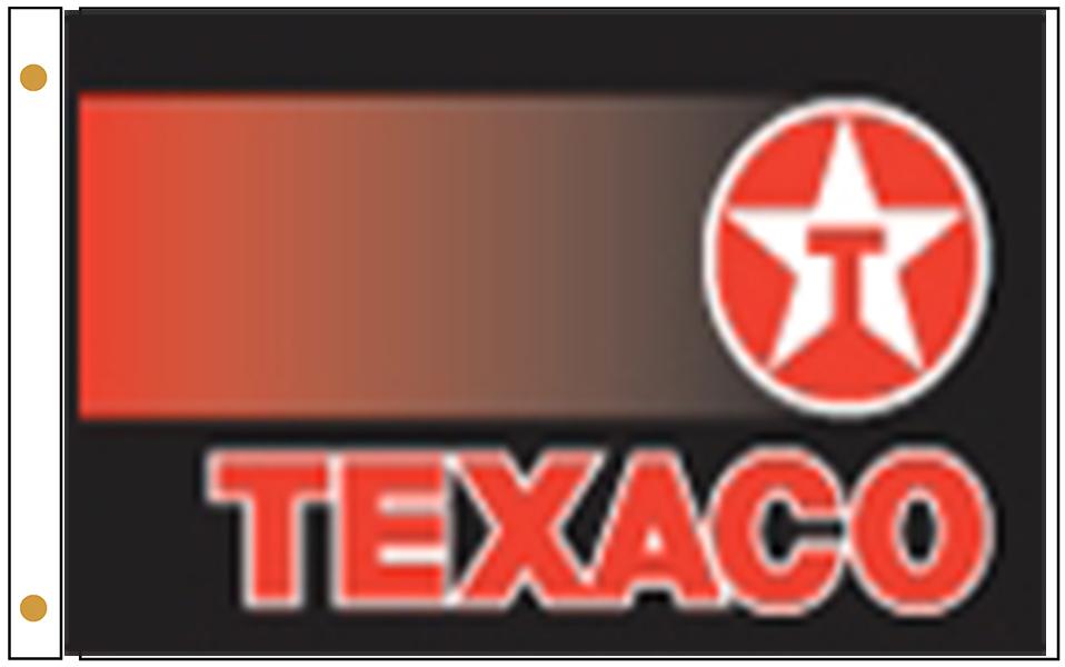 Texaco Gas Station Flags