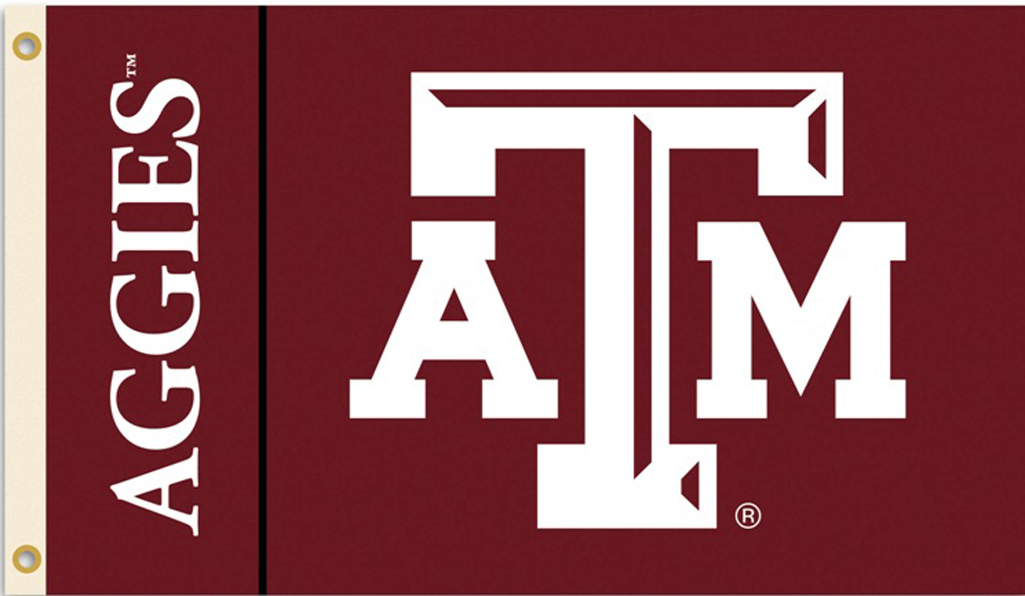Texas A & M Aggies Flag