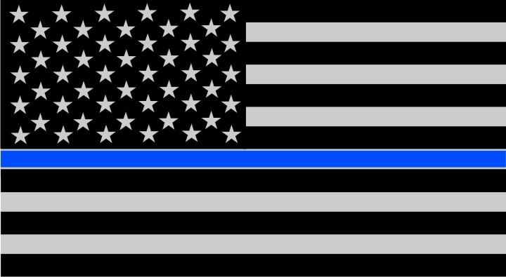Thin Blue Line USA Flags