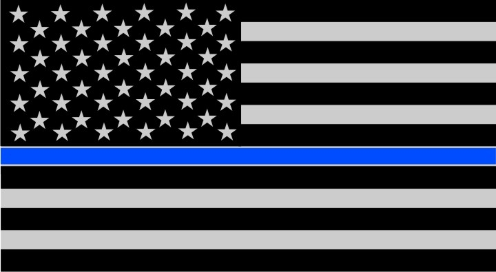Thin Blue Line USA Flags