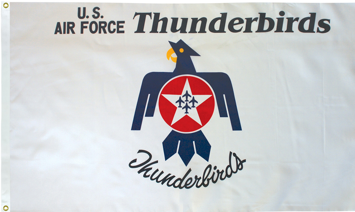Thunderbirds Flags