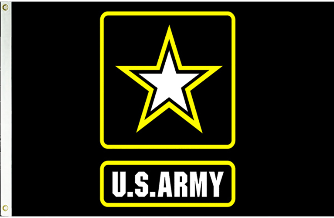 US Army Logo Flag