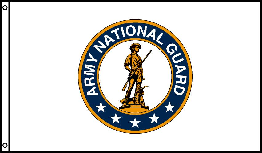 US Army National Guard Flags