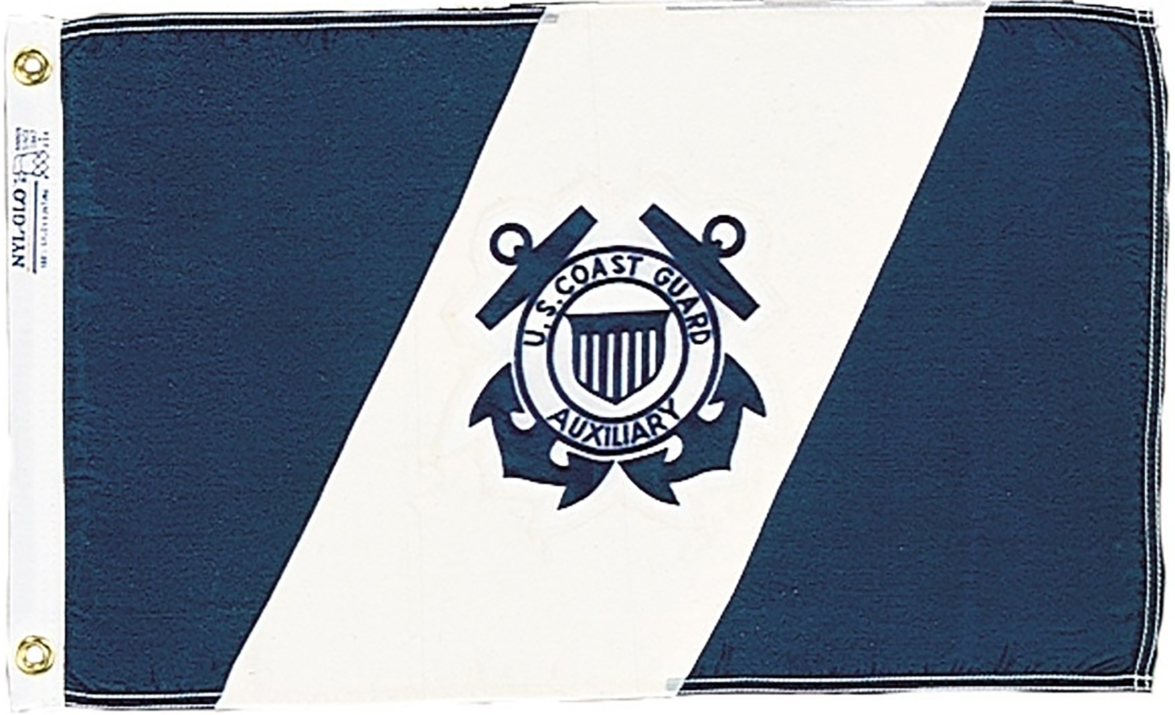 US Coast Guard Auxiliary Flags