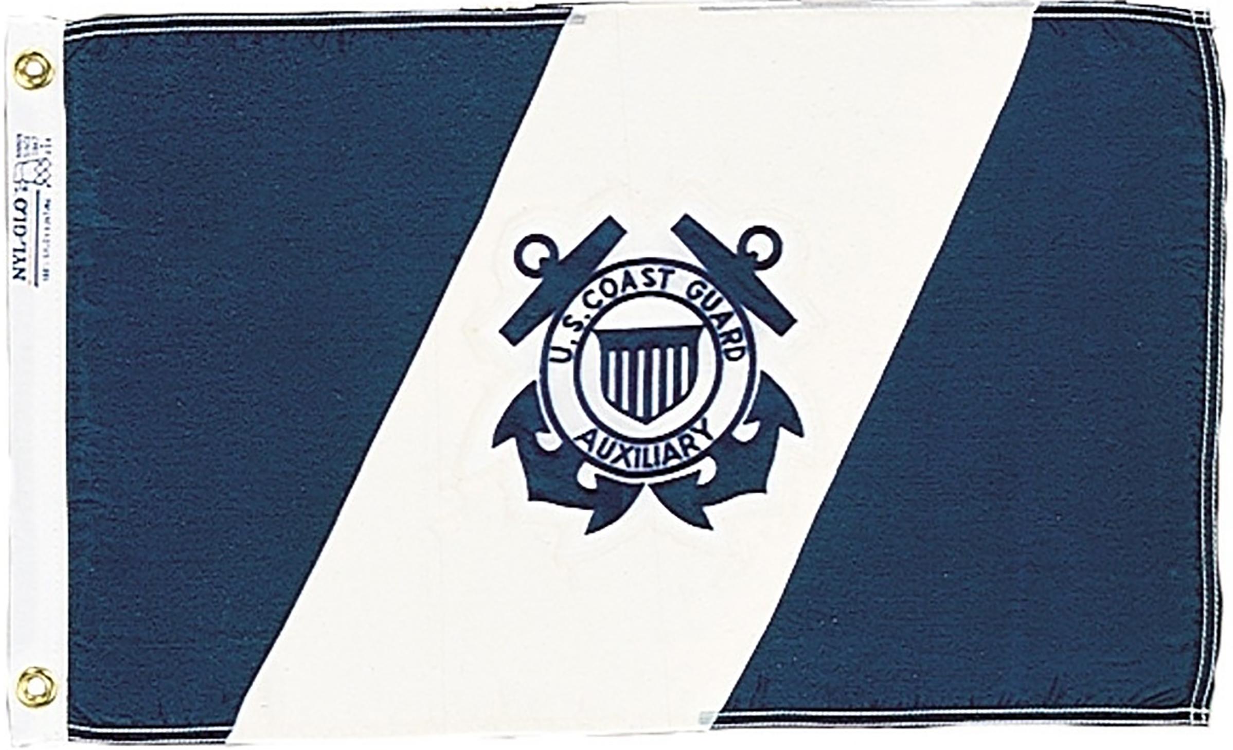 US Coast Guard Auxiliary Flags