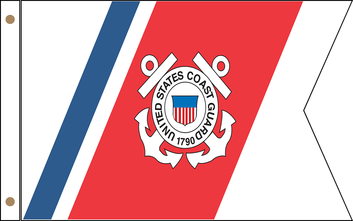 US Coast Guard Guidon Flags