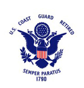 US Coast Guard Retired Flags