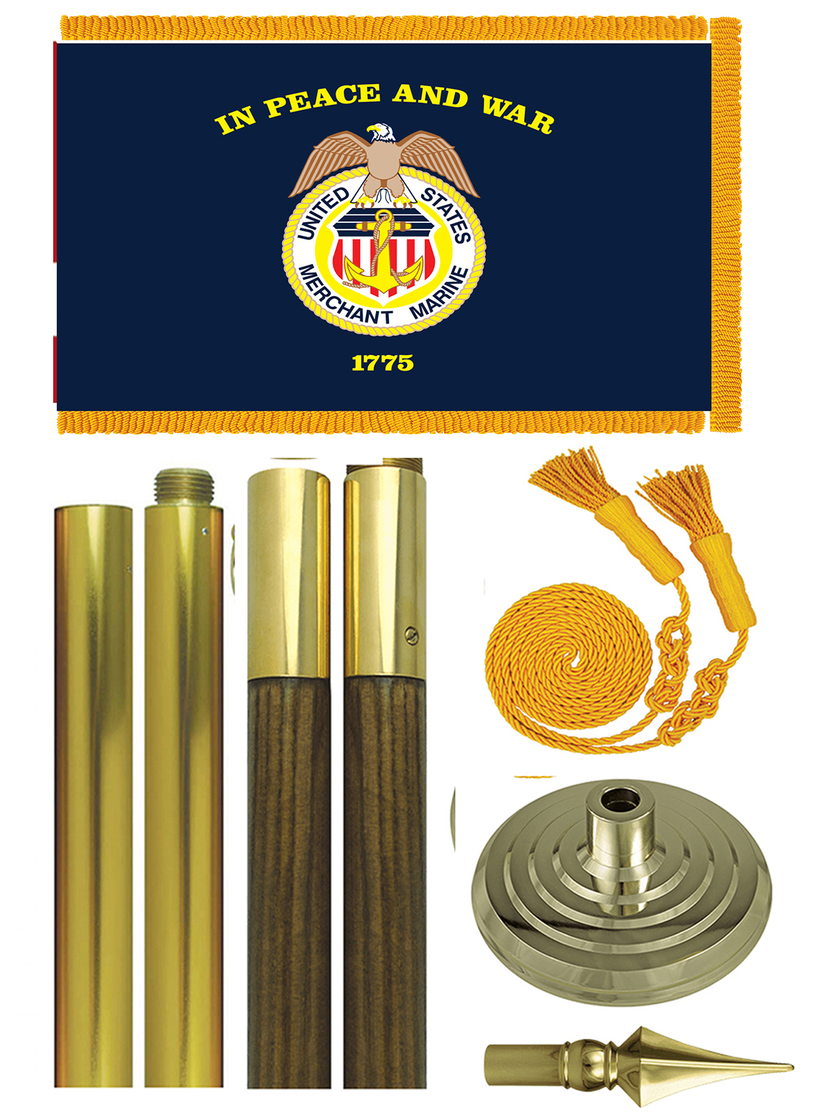 US Merchant Marine Parade Set