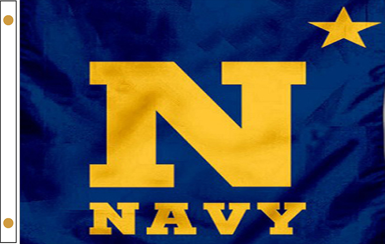 US Naval Academy Flag