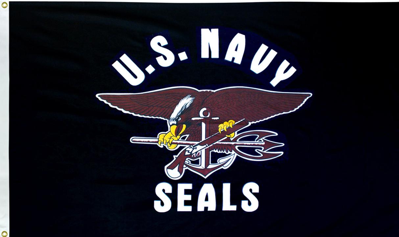 US Navy Seals Flags