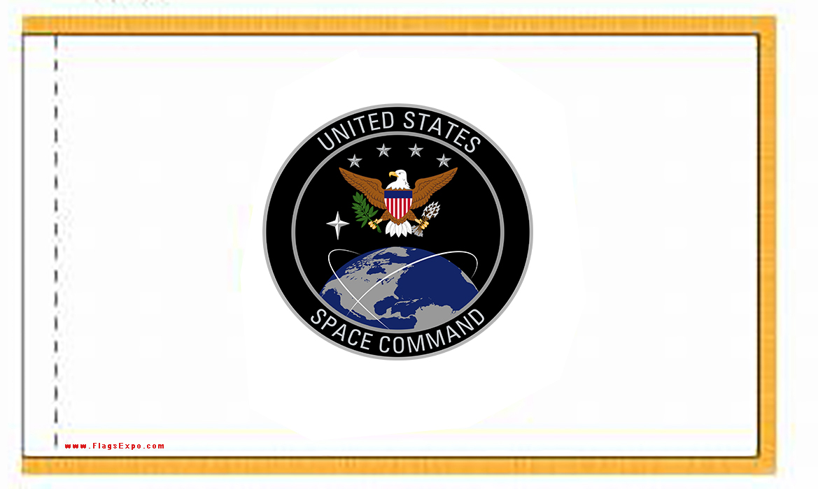 US Space Command Indoor Flags