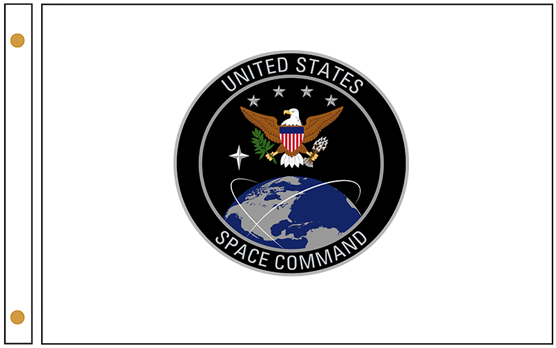 US Space Command Outdoor Flags