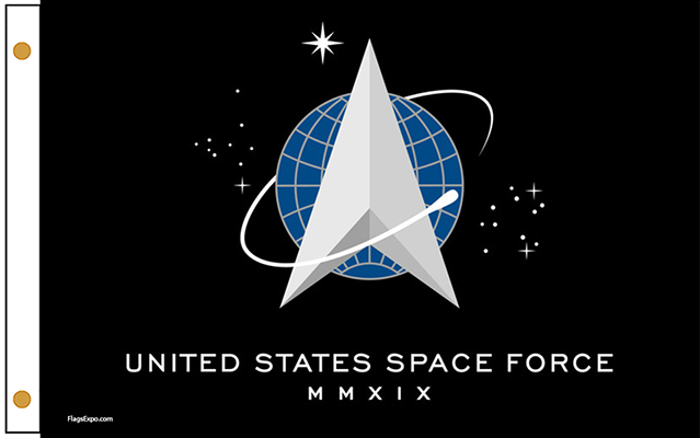 US Space Force Outdoor Flags