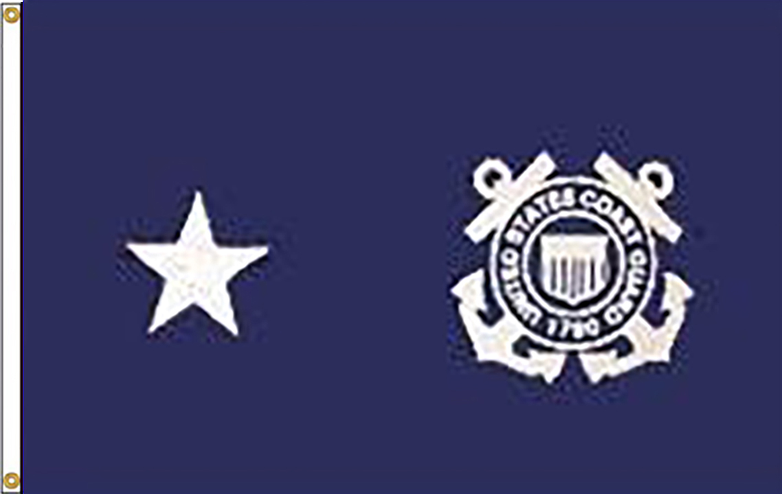 USCG Rear Admiral Lower Half Flags