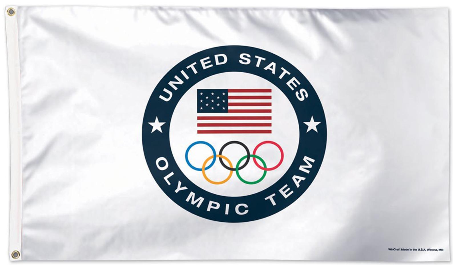 USOC Team Flags