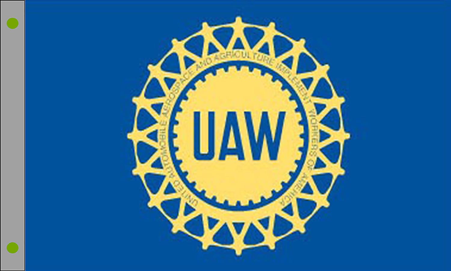 United Auto Workers Flags