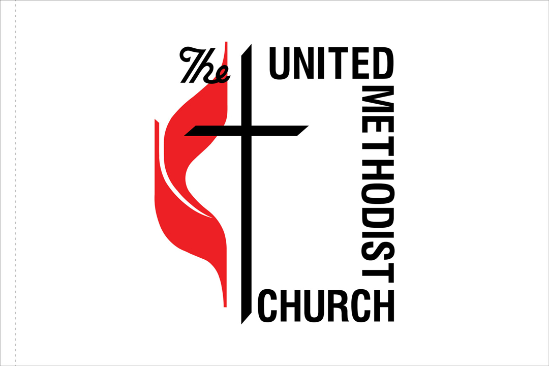 United Methodist Church Outdoor Flag