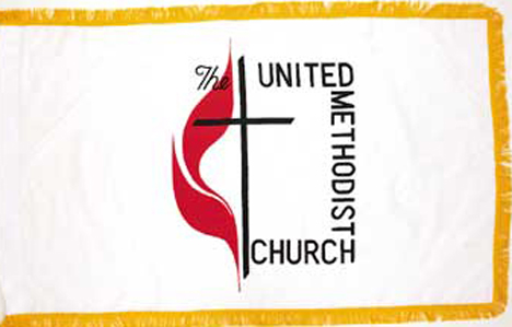 United Methodist Indoor Flag