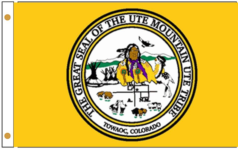 Ute Mountain Ute Tribe Flags