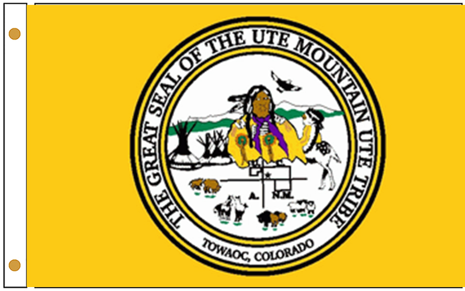 Ute Mountain Ute Tribe Flags