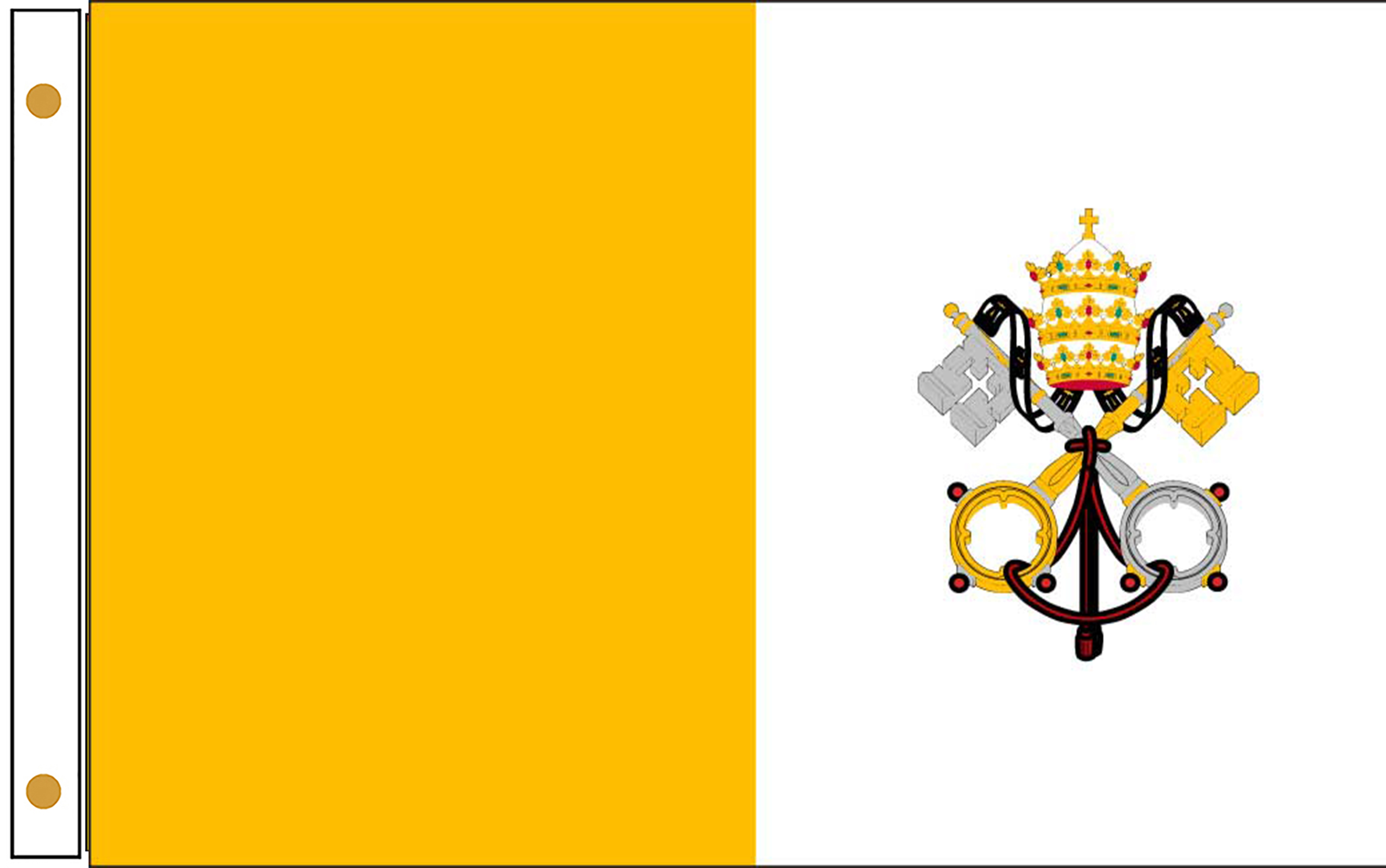 Vatican Papal Outdoor flags