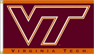 Virginia Tech Hokies Flags