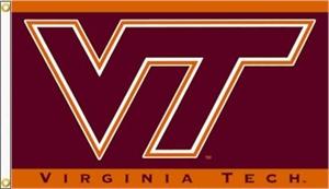 Virginia Tech Hokies Flags