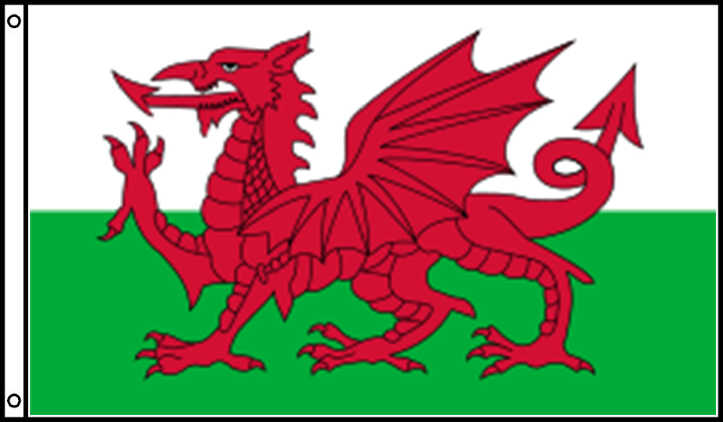 Wales Official Government Flags