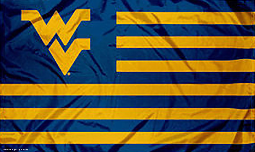 West Virginia Mountaineers Flags