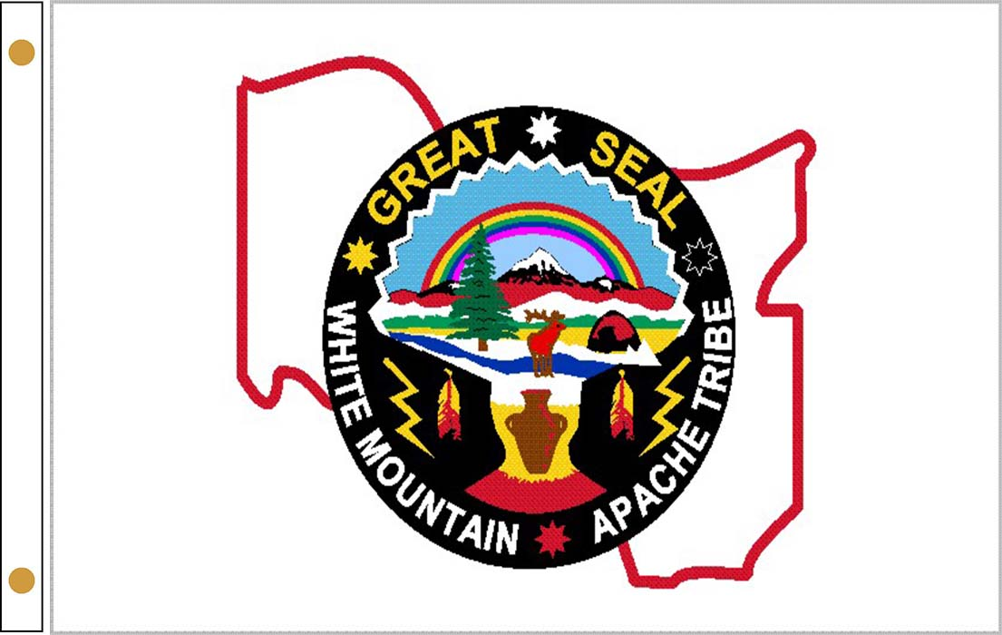 White Mountain Apache Tribe Flags