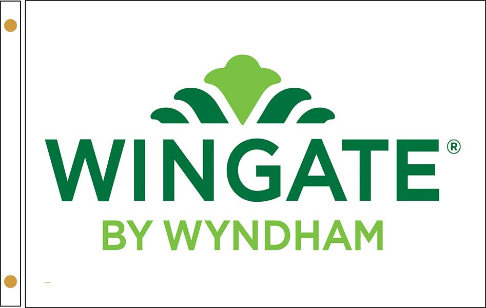 Wingate Inn Hotel Flags
