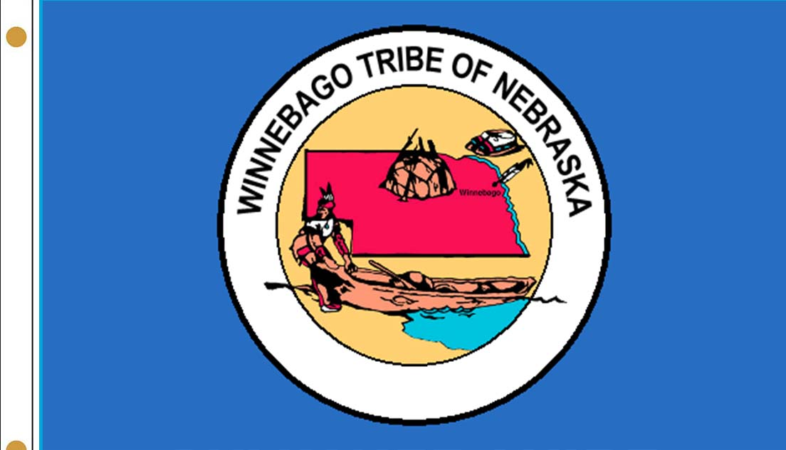 Winnebago Tribe of Nebraska Flags