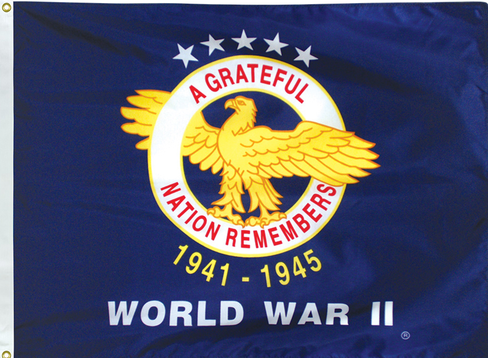 World War 2 Veterans Flags