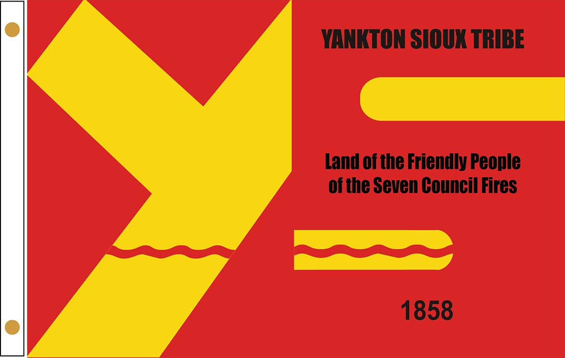 Yankton Sioux Tribe Flags