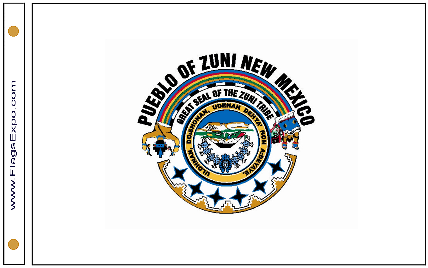Zuni Tribe Flags